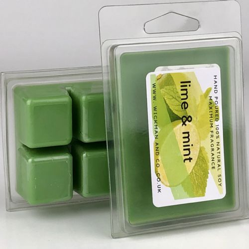 Lime & Mint Soy Wax Melt